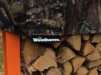 Mossy Oak 3/4 Cord Woodhaven Firewood Rack 12ft
