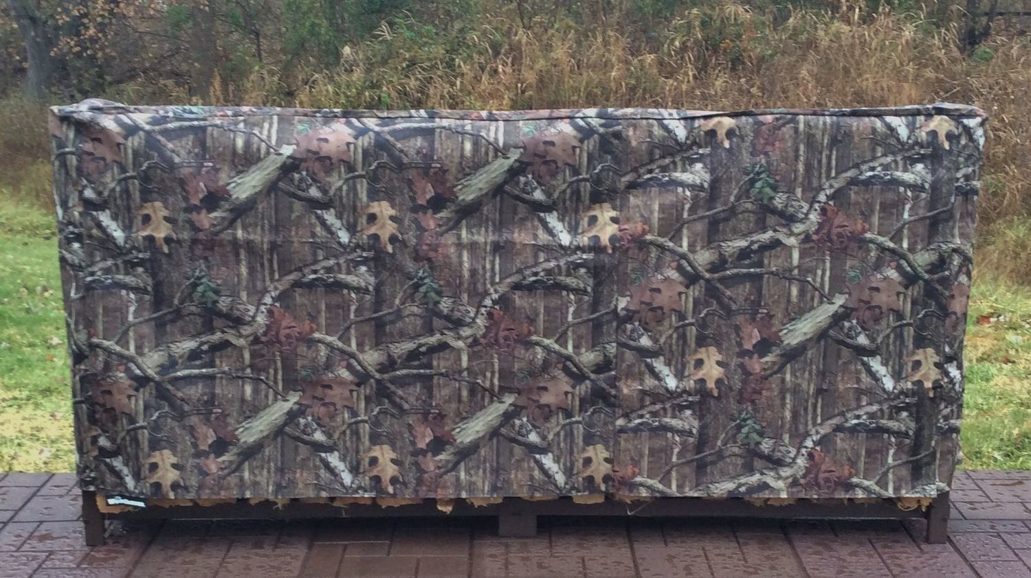 Mossy Oak Full Cover for 1/2 Cord 8ft