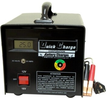 12-16 Volt Racing Charger
