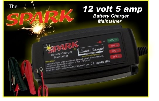 Spark Battery Charger/Maintainer