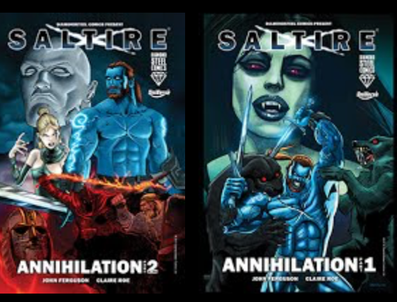 Saltire Annihilation Part One and Part Two SALE RRP £19.99