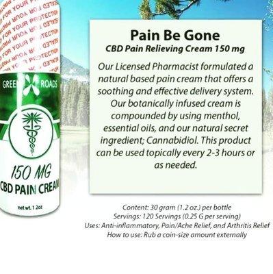 150mg Pain Cream 1.2oz