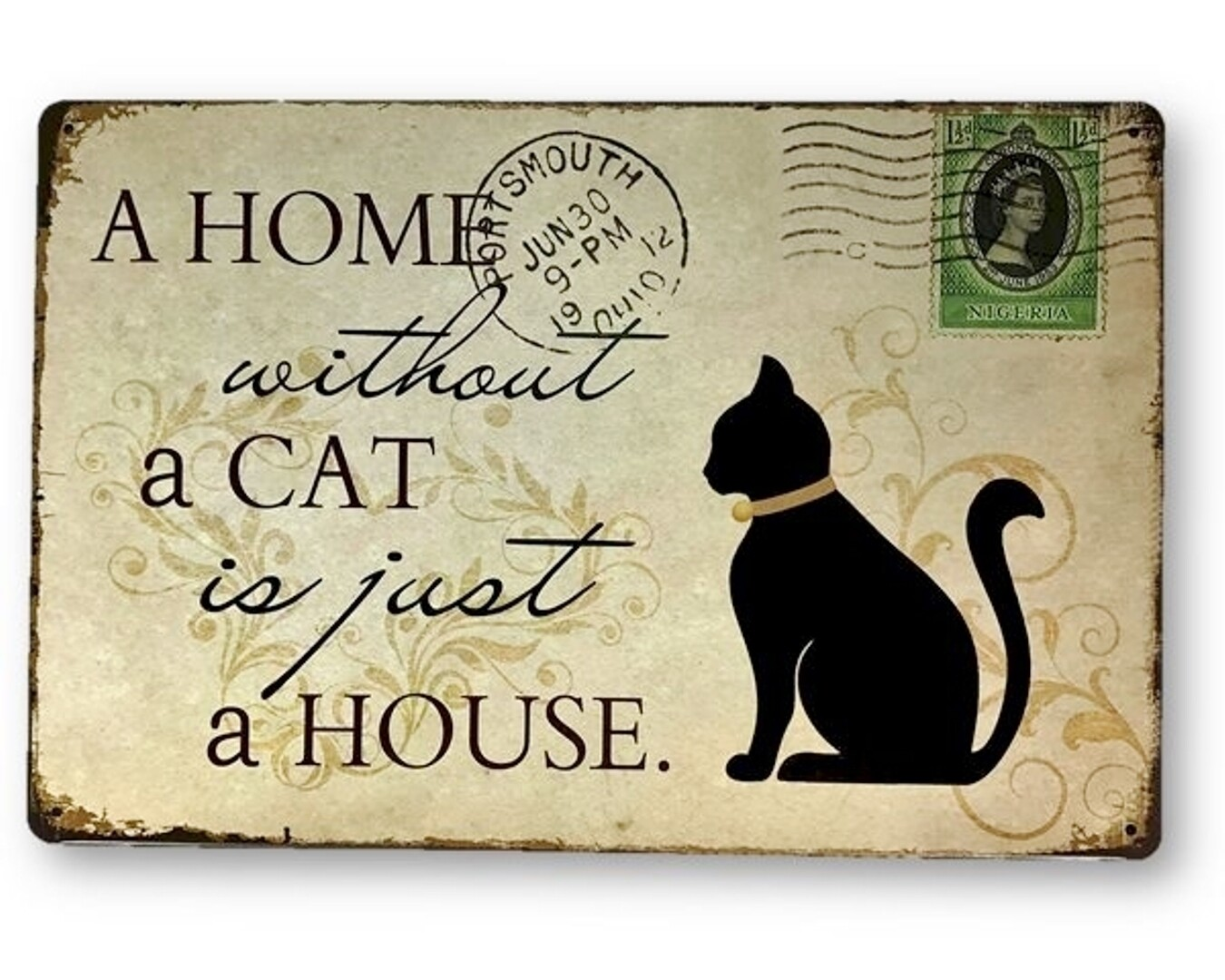 Cat Tin Sign
