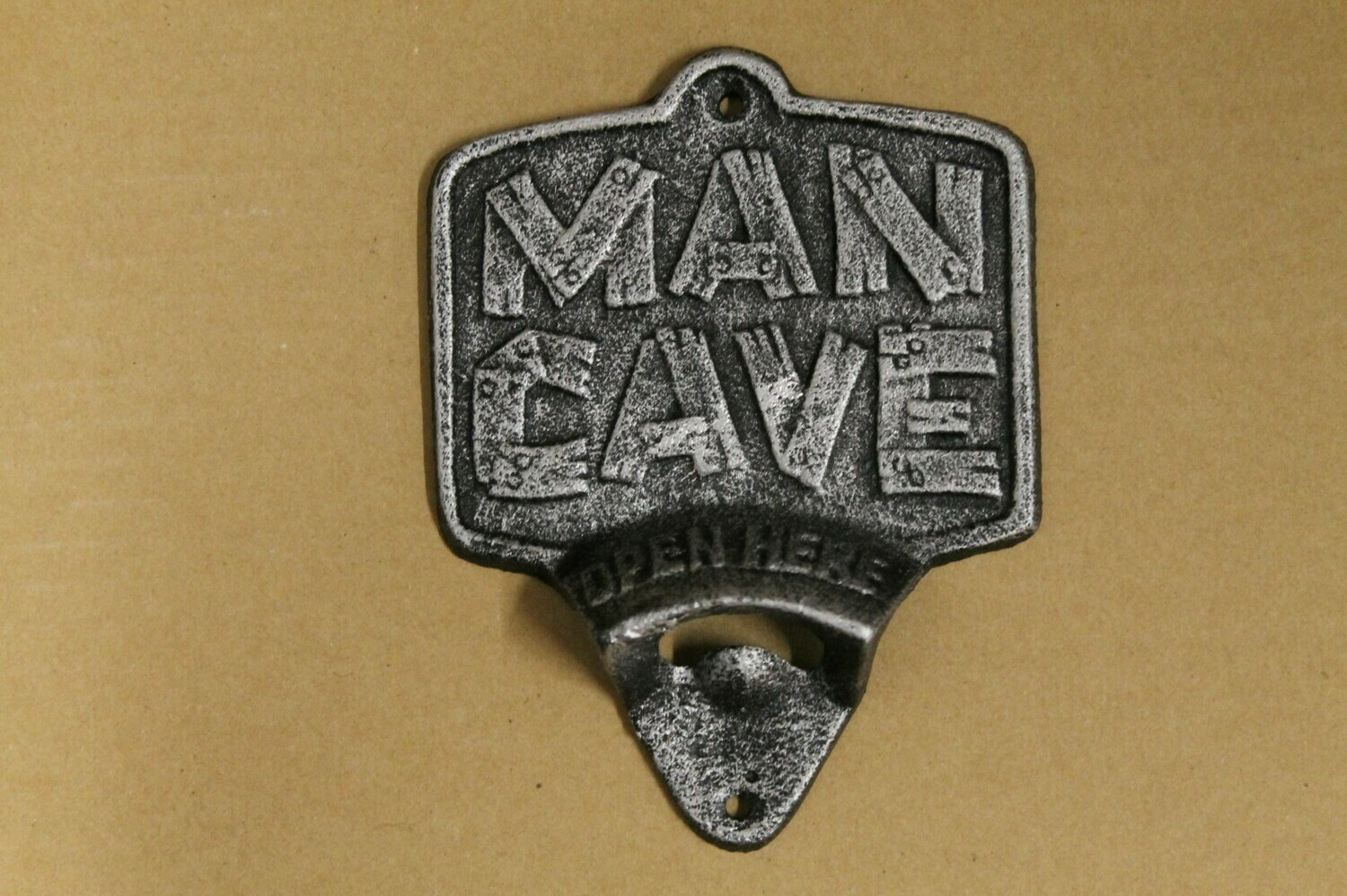 Man Cave Wall Bottle Opener