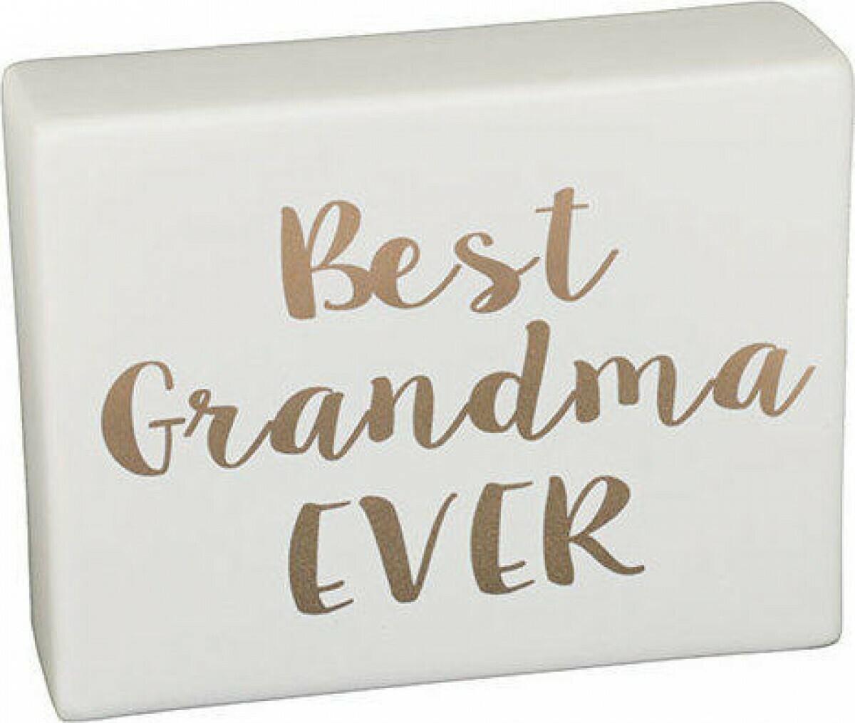 Best Nana Ceramic Sign