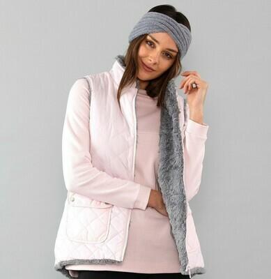 Shell Pink Hilo Hem Vest