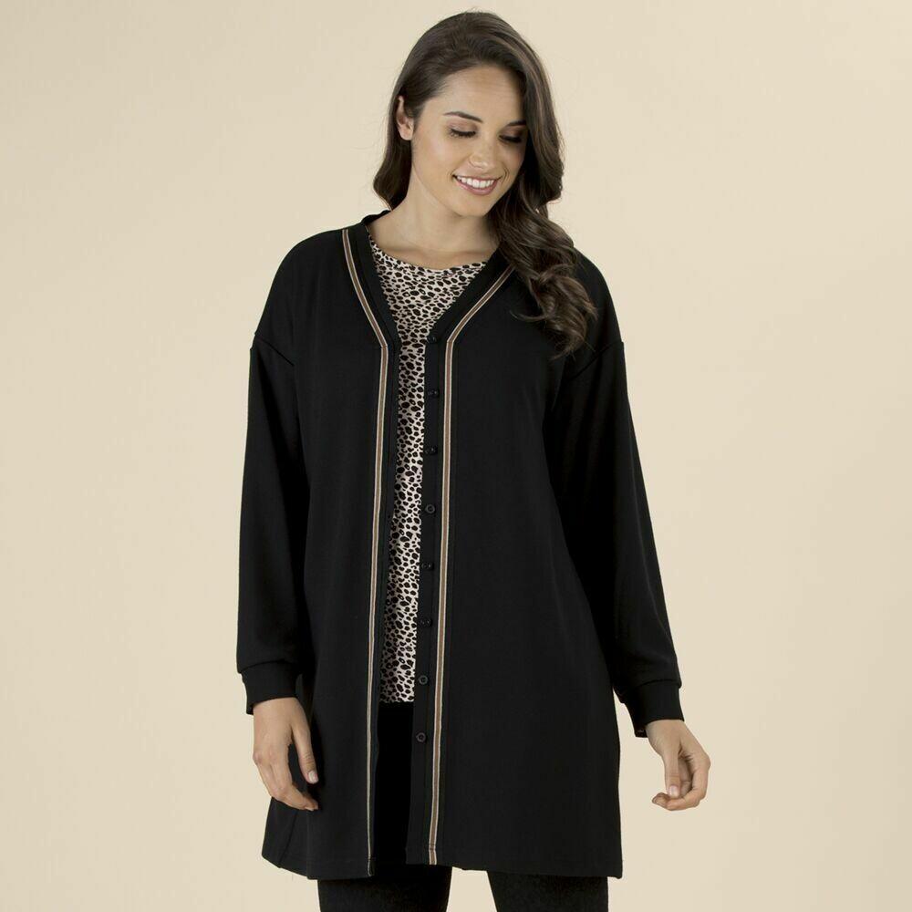 Black Knit Jacket/Cardy