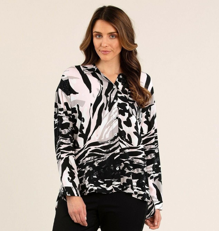 Waves Print Shirt
