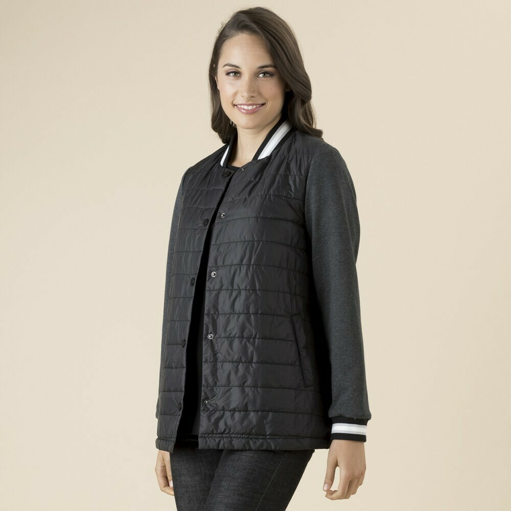 Black Puffa Jacket