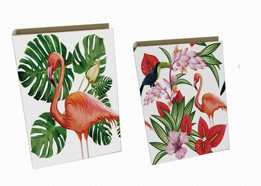 'Flamingo' Book Box-Set of 2 (may be purchased individually)