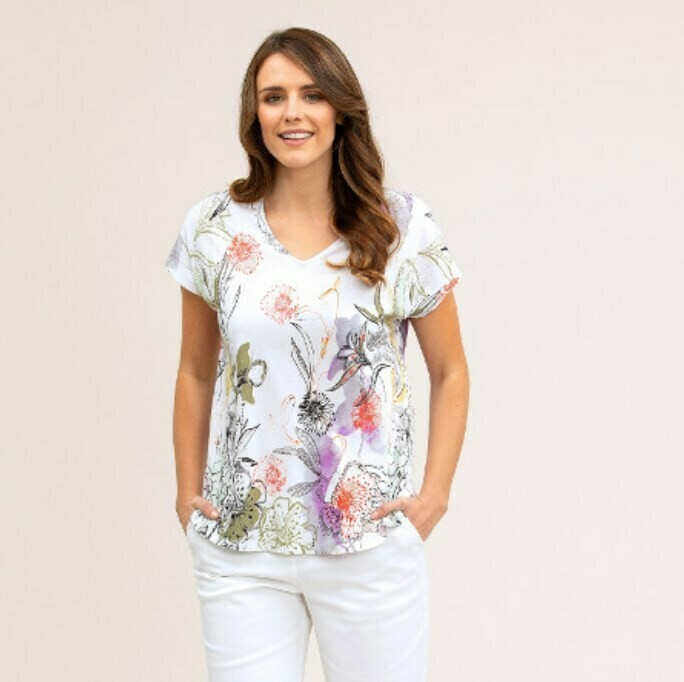 Hothouse Print Top