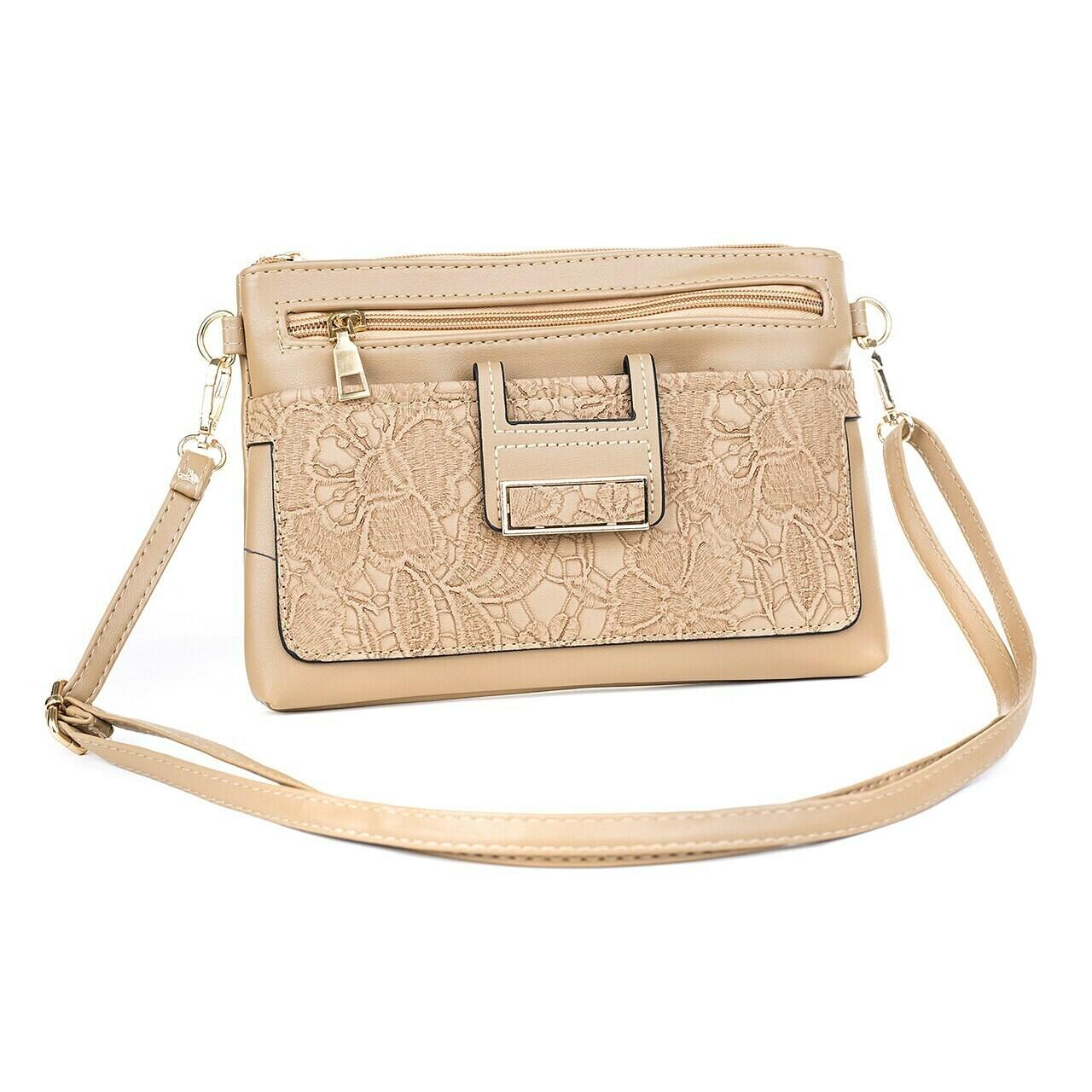 Sand Clutch/Shoulder Bag