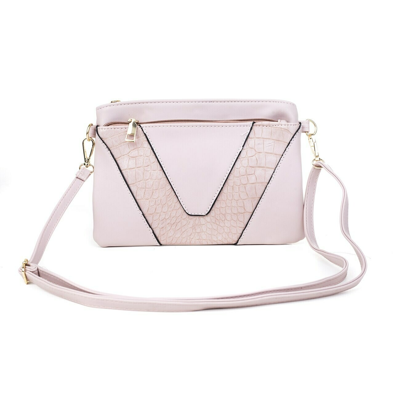 Pink Clutch/Shoulder Bag