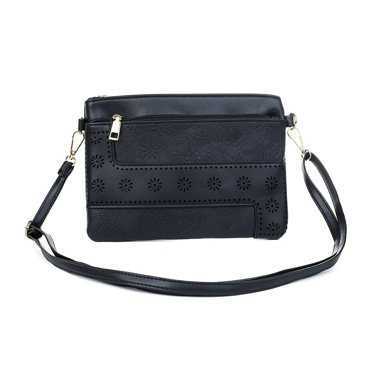 Black Clutch/Shoulder Bag