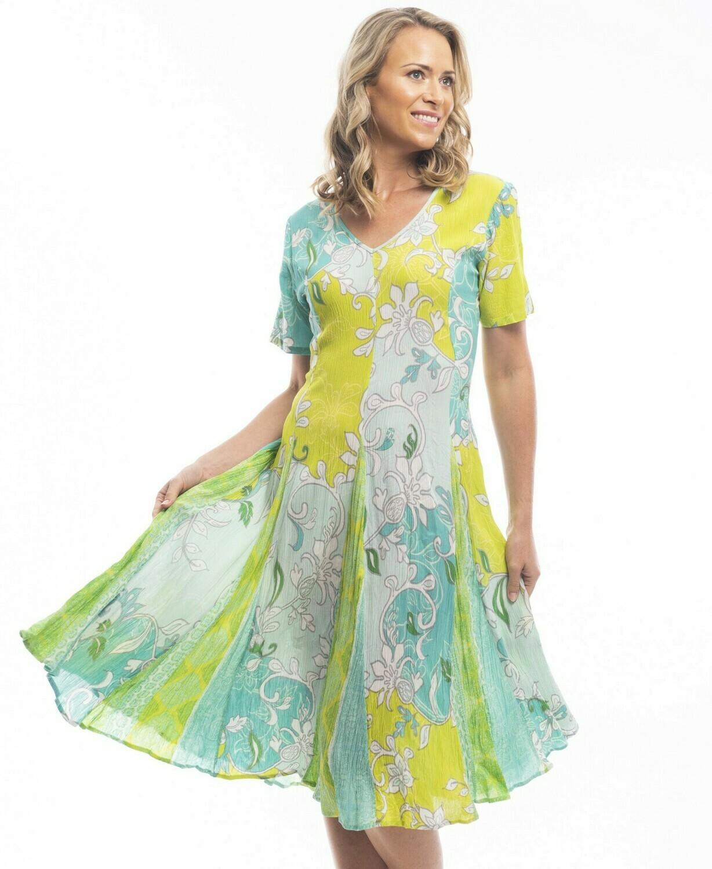 Sintra Godet Dress