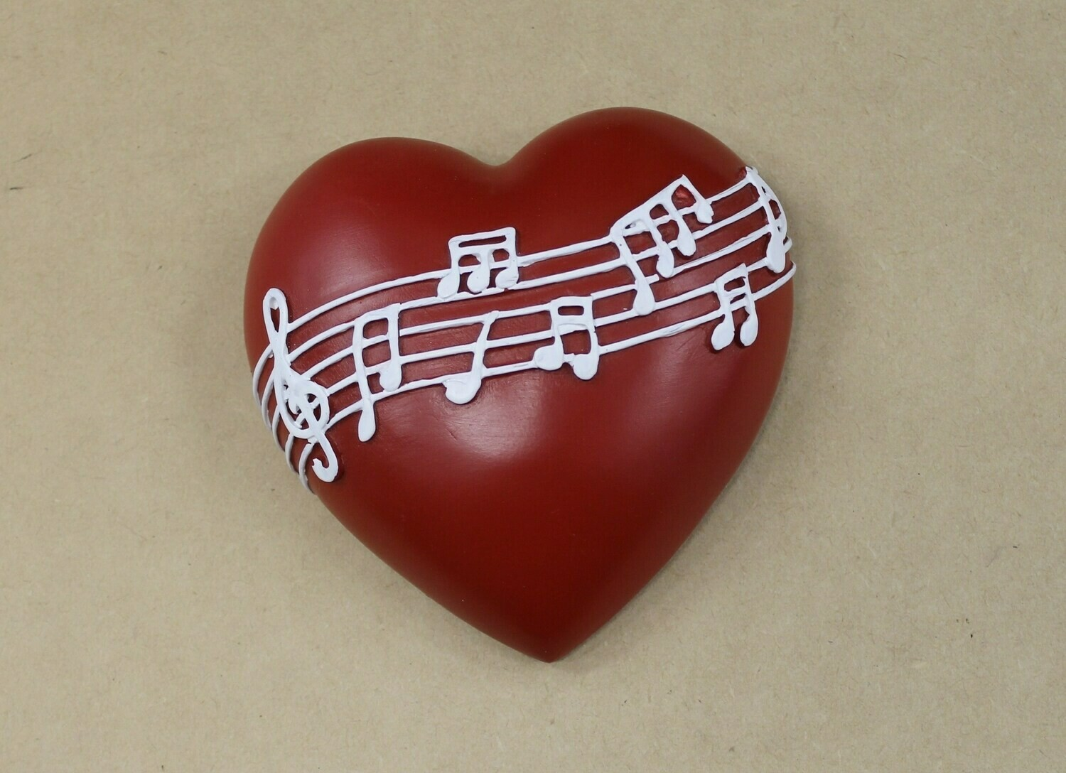Musical Note Wall Hanging Heart