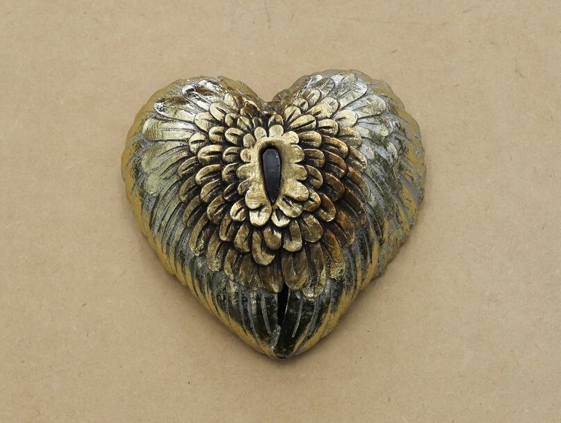 Angel Wings Wall Hanging Heart