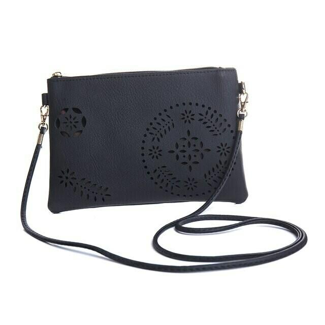 Black Clutch/Shoulder Bag