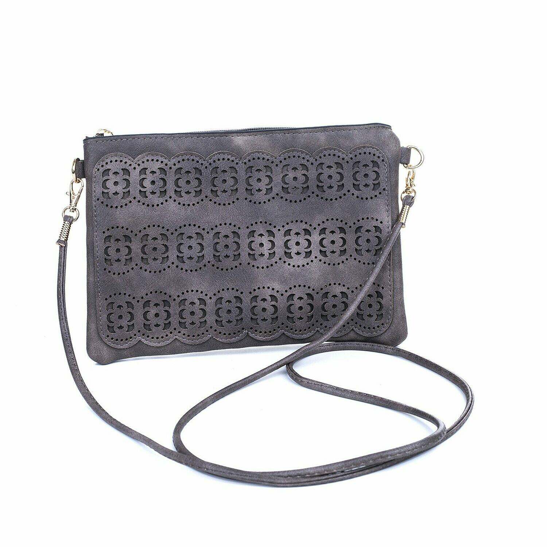 Brown Clutch/Shoulder Bag