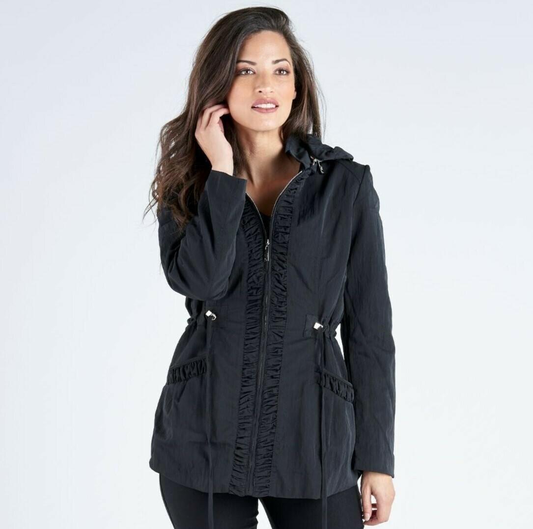 Weatherproof Jacket with Detachable Hood