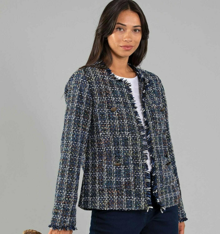 Textured Short Jacket