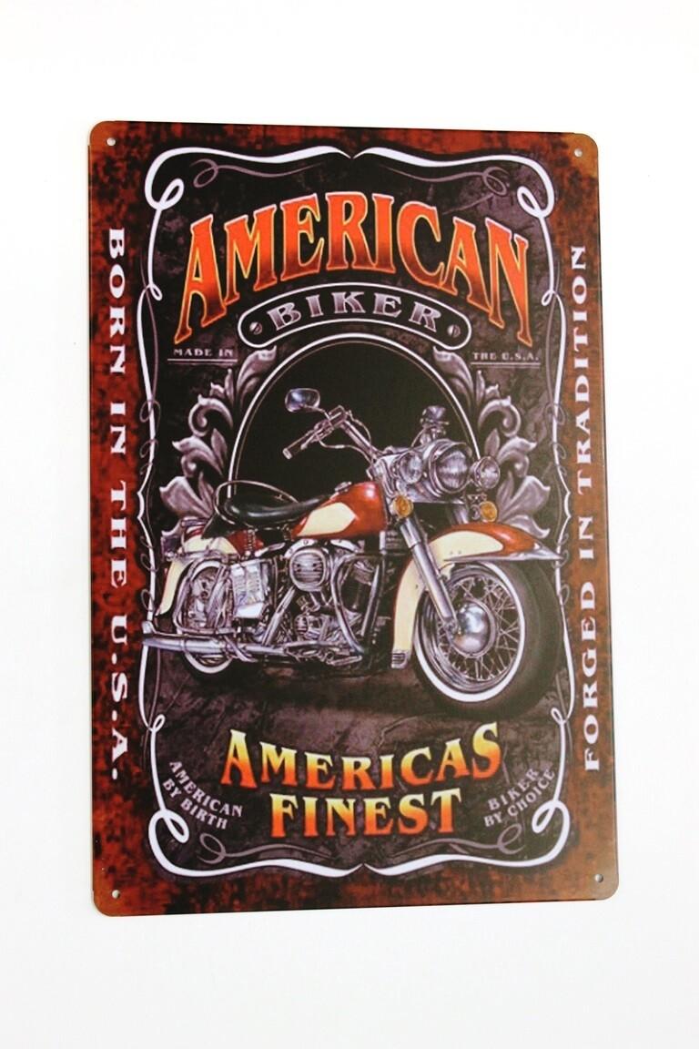 America's Finest Tin Sign