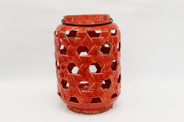 Red Moroccan Lantern - Large
