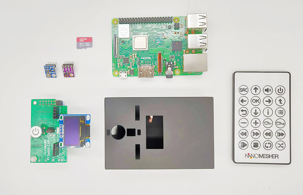 NanoSTEM IOT Weather Kit for Raspberry Pi - Standard