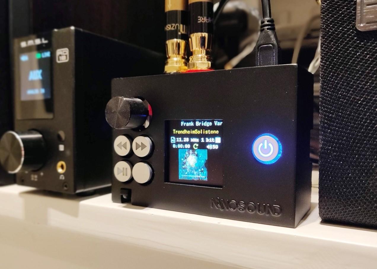 NanoSound DAC 2 Pro 3D Printed Case