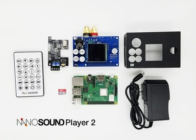 NanoSound Player 2 Kit - (HiFi Streamer)