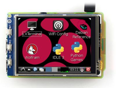 Waveshare 3.2inch RPi LCD (B), 320×240