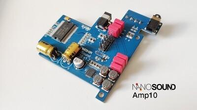 NanoSound Amp10 Digital Amplifier