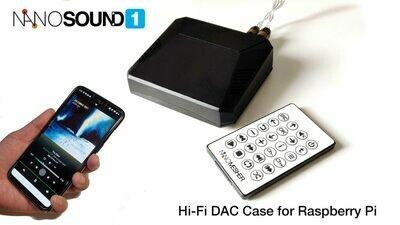 *NEW* NanoSound ONE - Hi-Fi DAC Case for Raspberry Pi