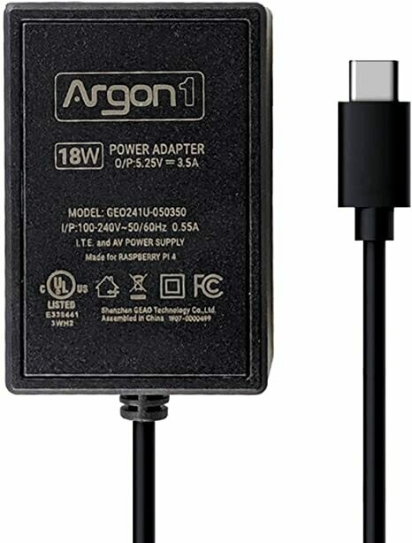 Argon 5.25V 3.5A power supply