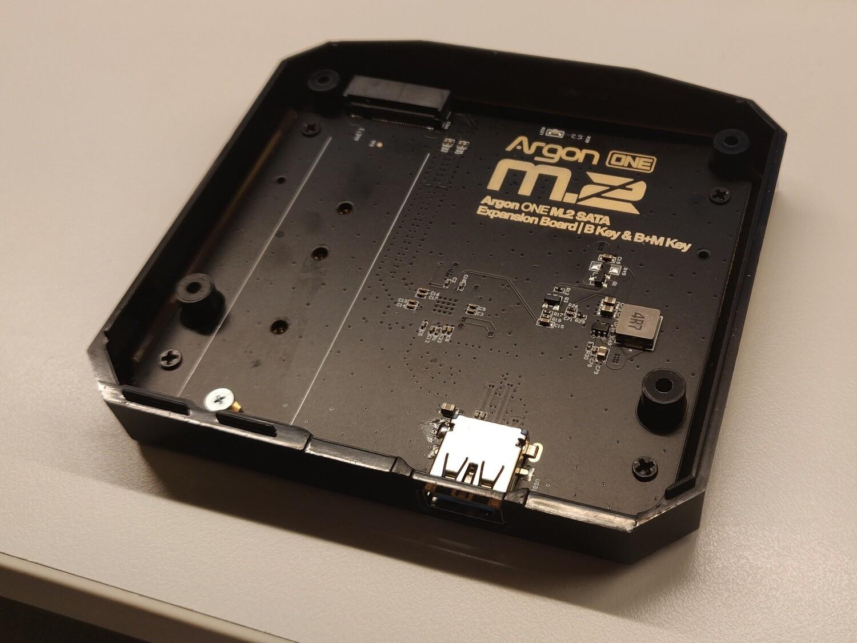 M.2 SSD Extension for Argon One / NanoSound One