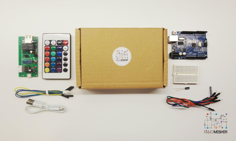 Nanomesher Raspberry Pi Power Switch with Remote Control & Programmer