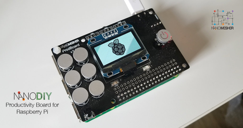 ProdBoard - All-in-one Utility Add-on Board for Raspberry Pi