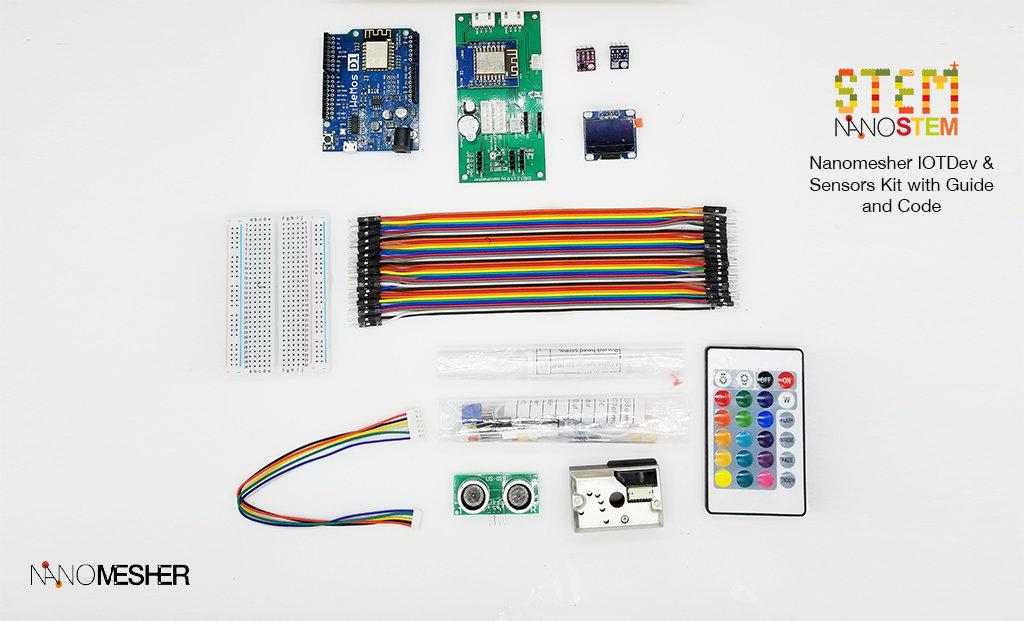 Dev and Sensors Kit for Arduino - Standard
