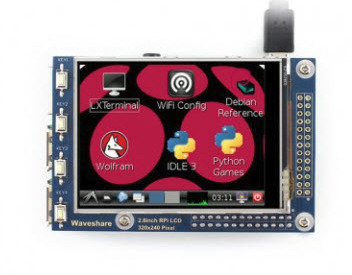 Waveshare 2.8inch RPi LCD (A), 320×240