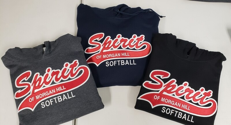 Spirit 2 Color Full Front Logo with Tail (see sizing chart in Product Details)