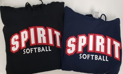 SPIRIT 2 Color Letters Full Front Logo (see sizing chart in Product Details)