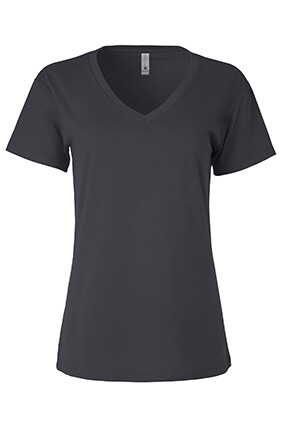 Next Level Apparel Women's Relaxed V - Silk-Screened