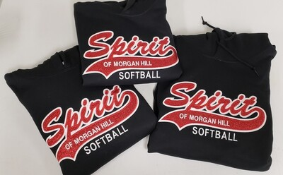Sparkle 2Color Spirit Full Front Logo (see sizing chart in Product Details)