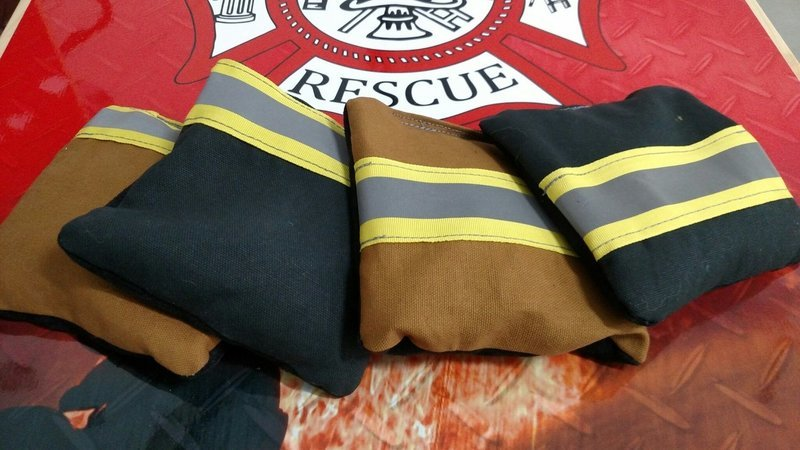 Custom firefighter bags