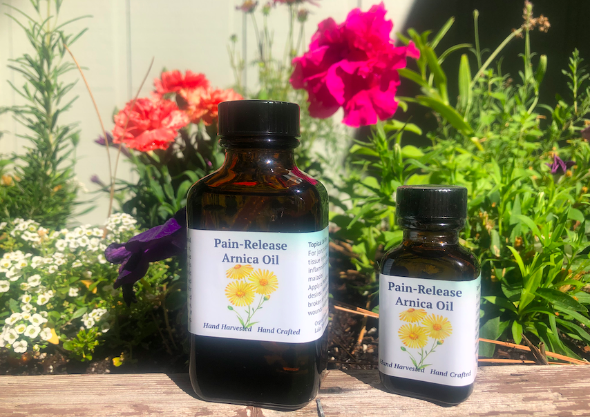 Arnica Pain-Release Oil, Three Ounce
