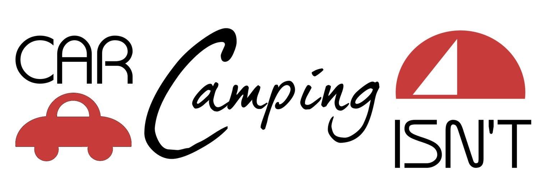 Car Camping Isn't Sticker