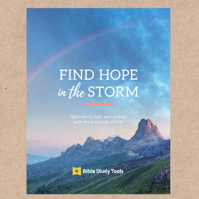 Find Hope in the Storm (Digital Pdf Copy)