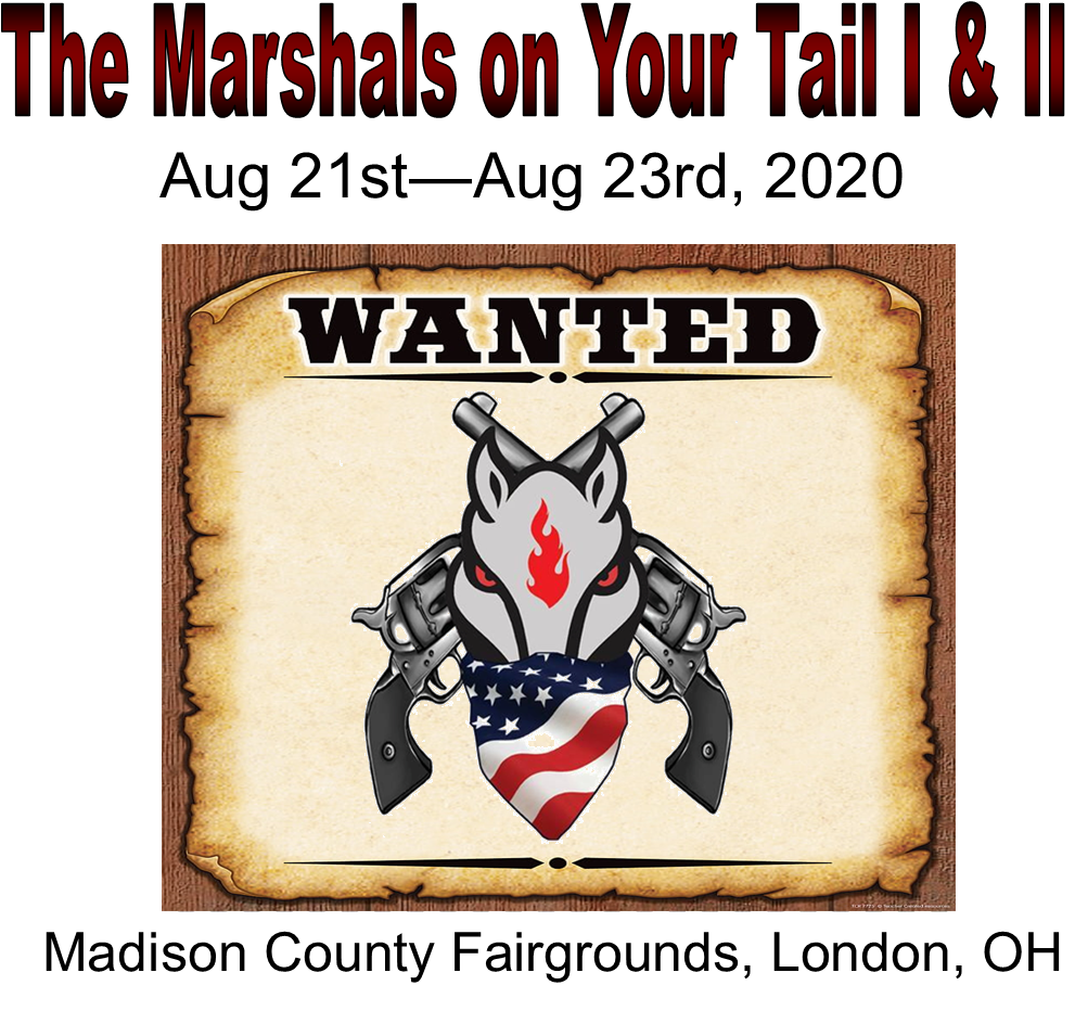 #Saturday, Aug 22, 2020, The Marshals on Your Tail I, Main Match + Office Fee