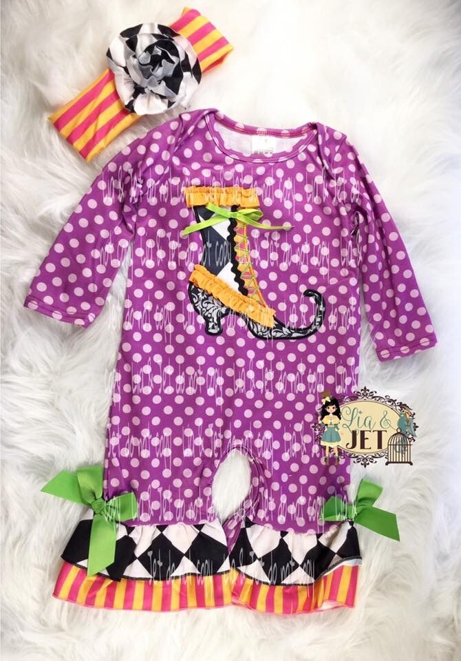 Witchy Fun Romper