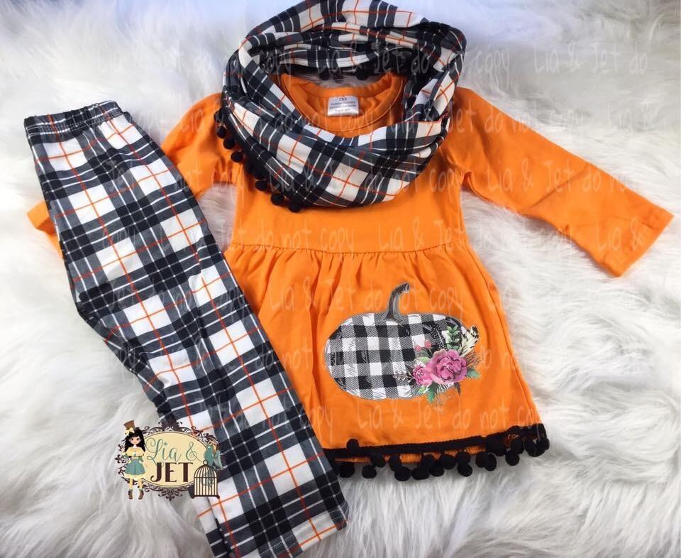Plaid Pumpkin